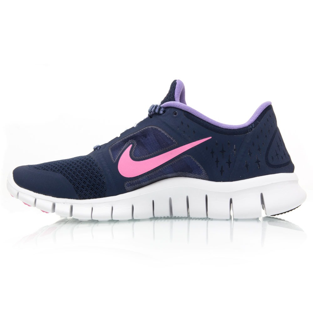 nike free run junior pink