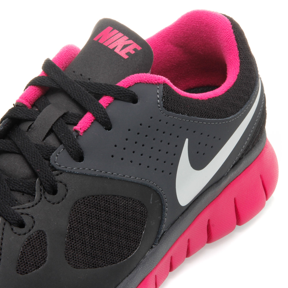 Nike Flex 2012 RN (009) - Womens Running Shoes - Black/Pink/White