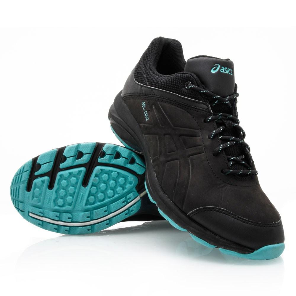 Asics Gel Cruz - Womens Walking Shoes - Black/Turquoise
