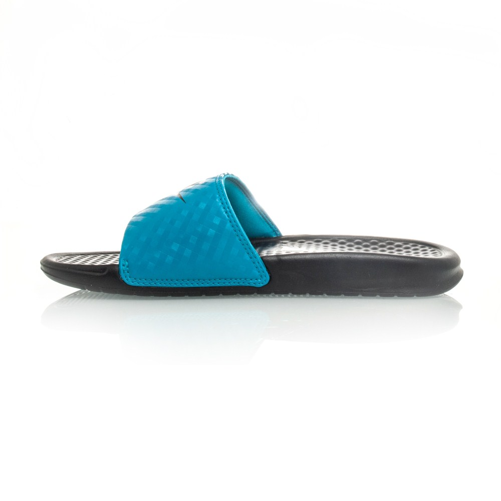 Unique Nike Benassi Jdi Womens Size 9 Black Slides Sandals Shoes No Box