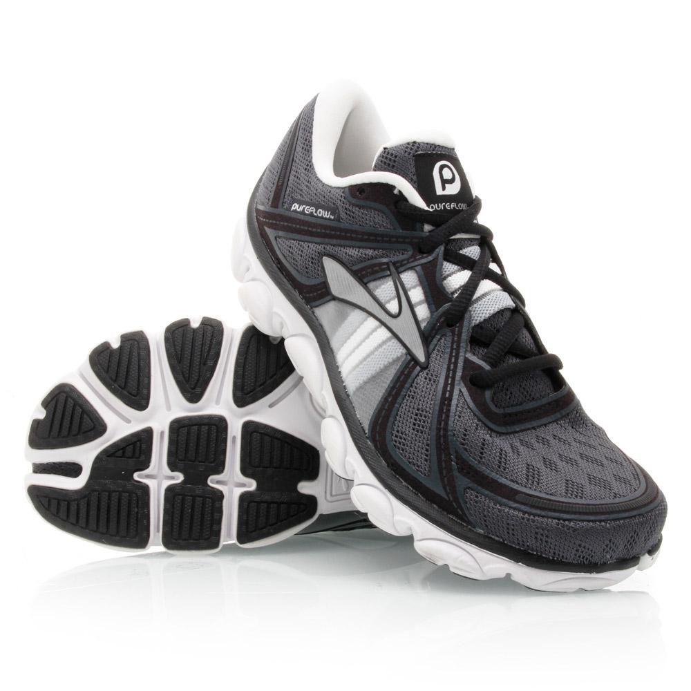 Brooks PureFlow - Womens Running Shoes - Black/White