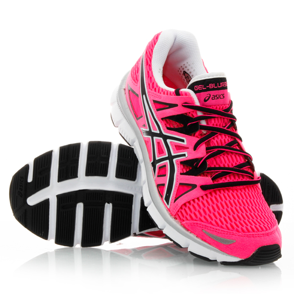 Asics Gel Blur 33 - Womens Running Shoes - Hot Pink/Black/White