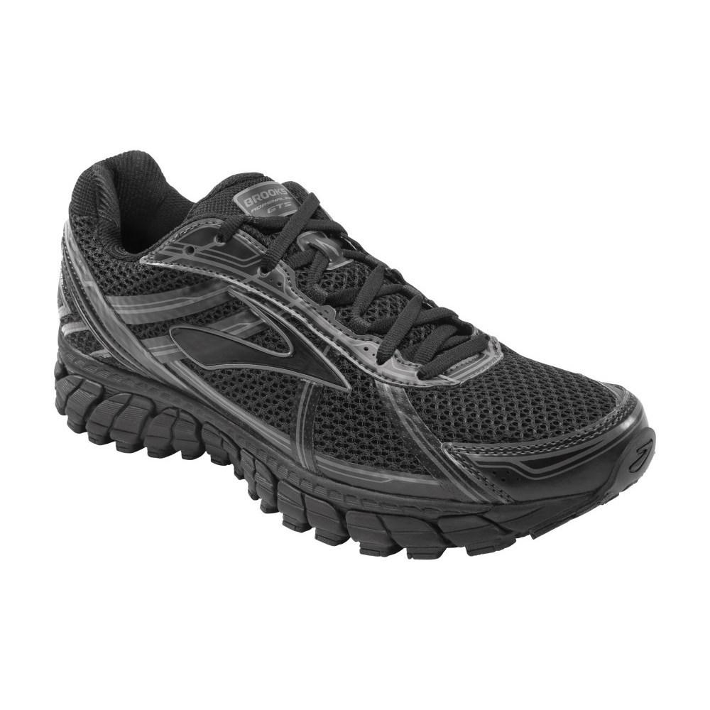 buy brooks adrenaline gts 15 mens running shoes black. Black Bedroom Furniture Sets. Home Design Ideas