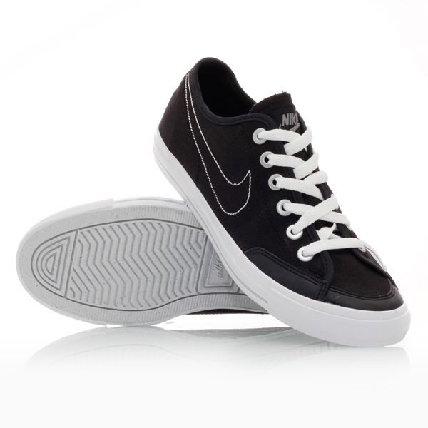 Nike Go Canvas (001) - Mens Casual Shoes - Black/White