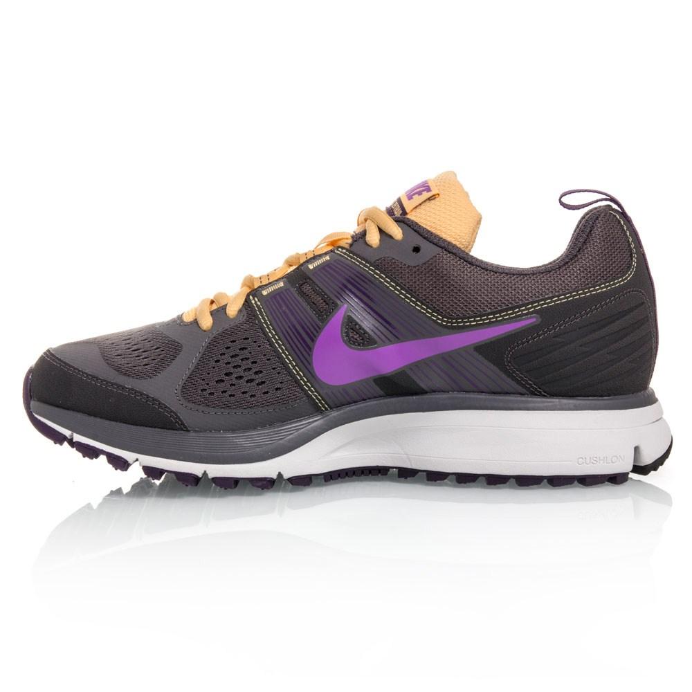 Nike Air Pegasus+ 29 Trail - Womens Trail Shoes - Grey/Yellow/Purple