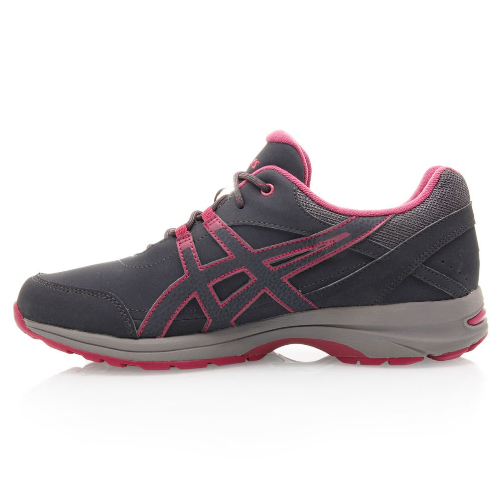 28 asics gel avenue womens walking shoes charcoal