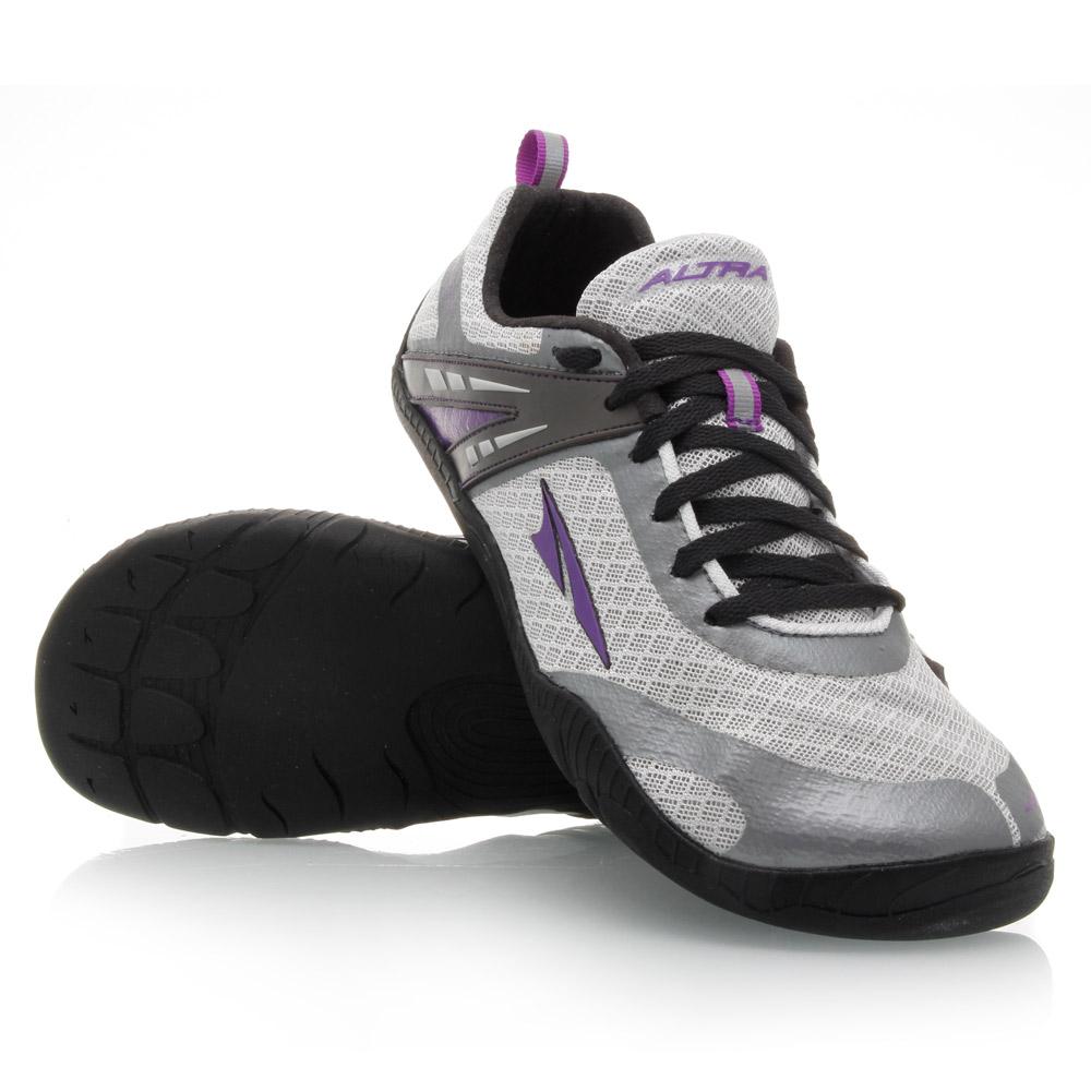 Altra Delilah - Womens Minimalist Running Shoes - Grey/Purple