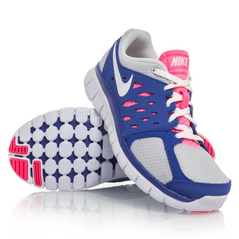 Nike 6.0 Girls Dunk Hi Blue, Purple & White Shoe