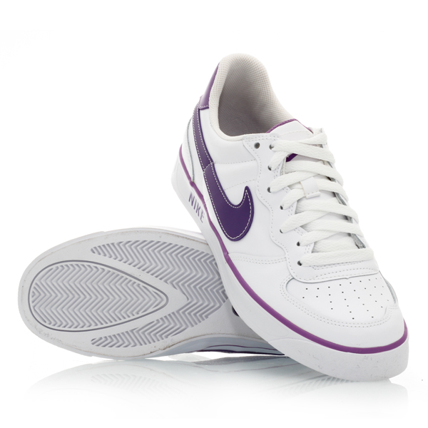 Nike Ace 83 Autoclave - Womens Casual Shoes - White/Purple