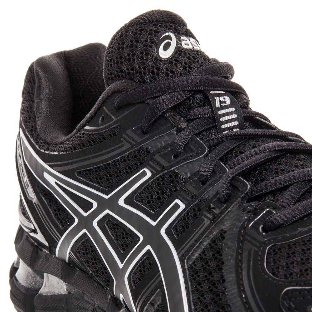 asics gel kayano 19 black/royal/onyx