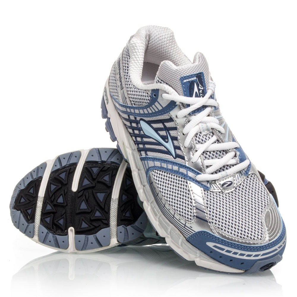 Brooks Ariel - Womens Running Shoes - Blue/Silver/White