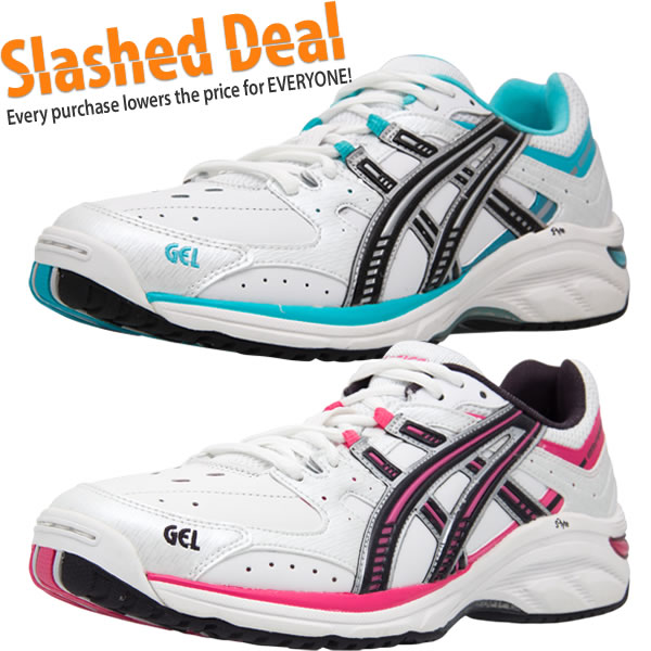 Asics Gel 520TR Leather Girls Cross Training Shoes