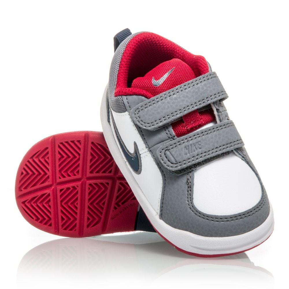 Buy Nike Pico 4 TDV - Toddler Boys Shoes - White/Grey/Red | SlashSport