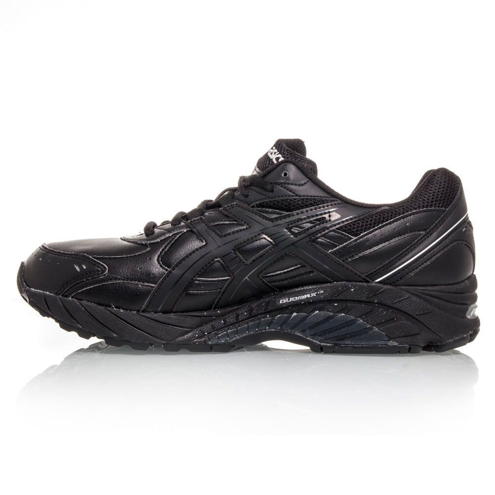 Asics Gel Foundation Walker 2E - Mens Walking Shoes - Black/Silver