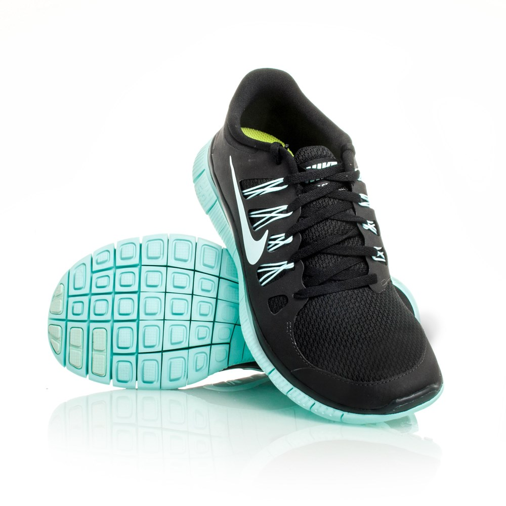 12 off nike free 5 0 womens running shoes black teal slashsport. Black Bedroom Furniture Sets. Home Design Ideas