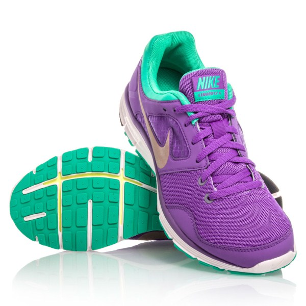 Purple nike running shoes for girls