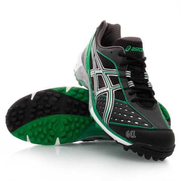 33% Off Asics Gel Hockey Neo - Mens Hockey Shoes - Black/Field Green
