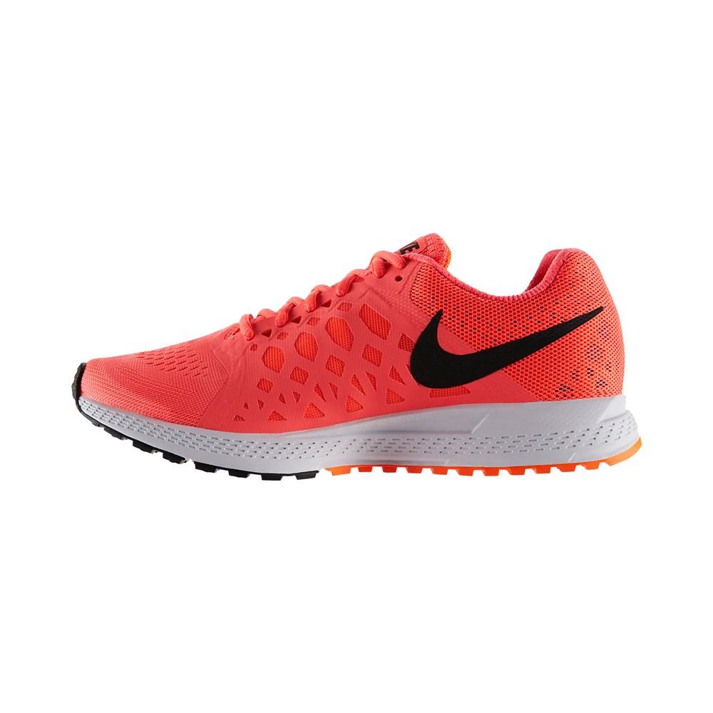 buy nike air zoom pegasus 31 womens running shoes hyper punch black total orange slashsport. Black Bedroom Furniture Sets. Home Design Ideas