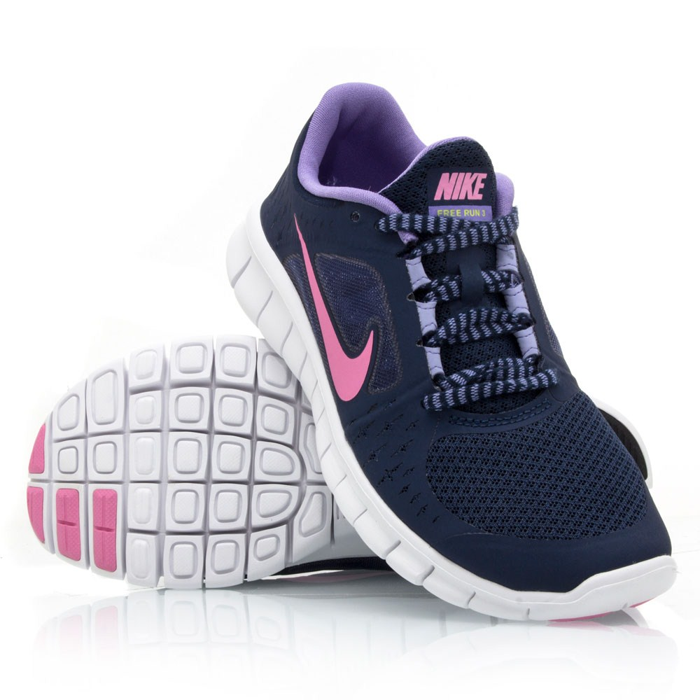 Girls' Grade School Nike Free Run 5 Running Shoes - 580565 002