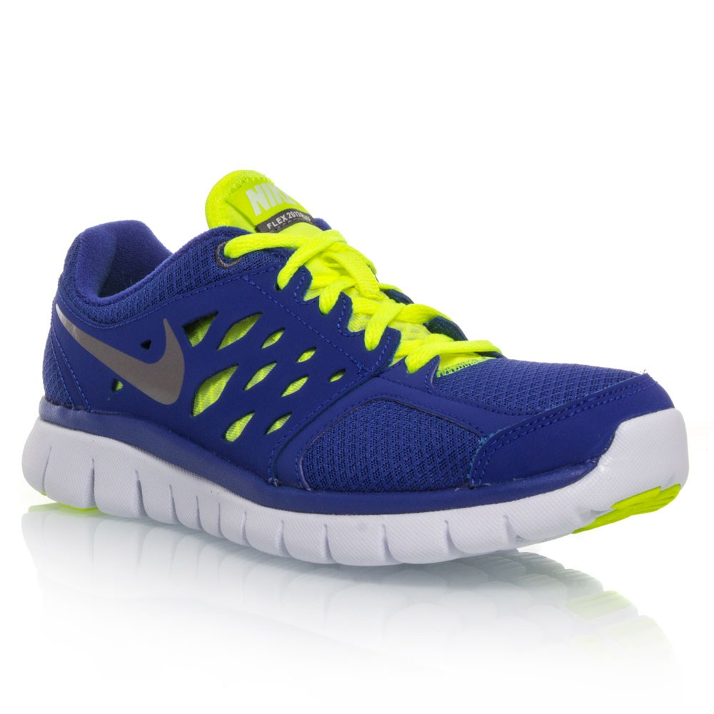 Buy Nike Flex 2013 RN GS - Boys Running Shoes - Blue/Yellow ...