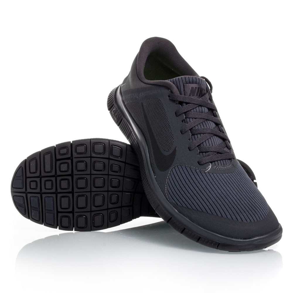 Nike free run 4.0 all black