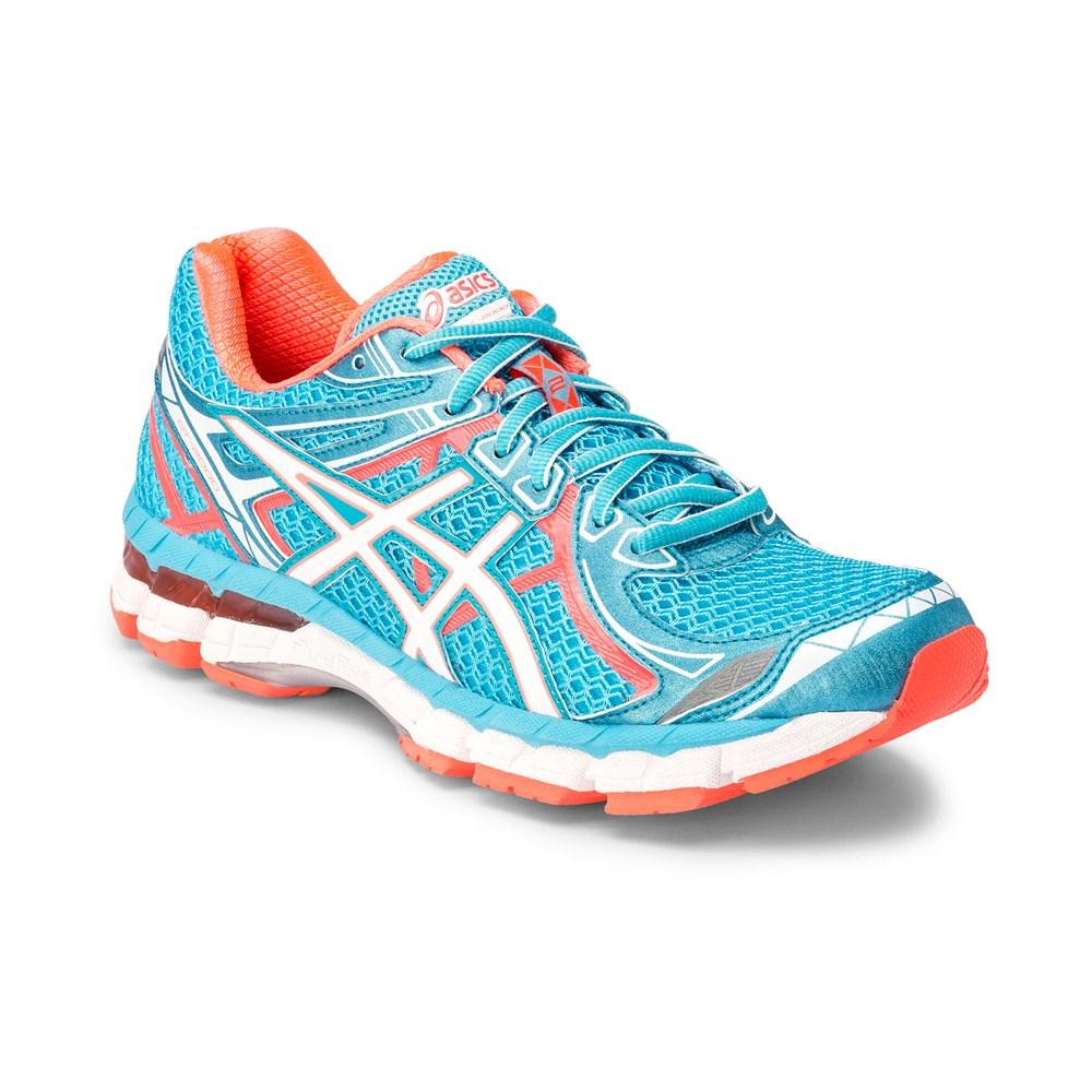 Asics GT-2000 2 - Womens Running Shoes - Light Blue/Orange/White