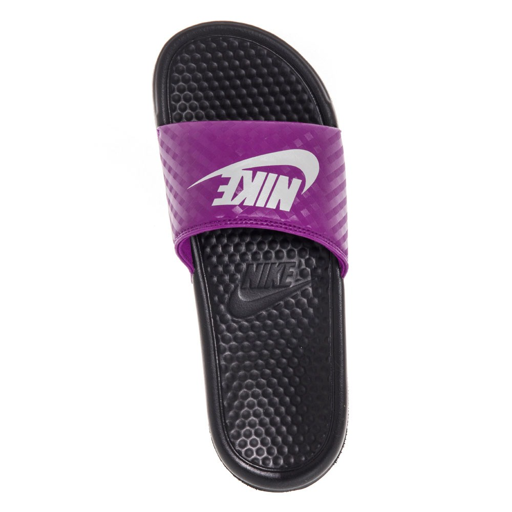 Excellent Buy Nike Benassi JDI  Womens Slides  PinkBlack  SlashSport