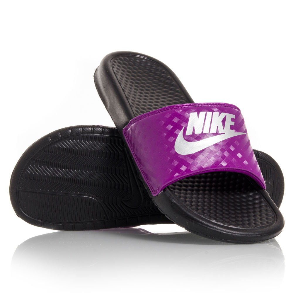 Innovative Nike Benassi JDI Womens Size 6 Black Slides Sandals Shoes