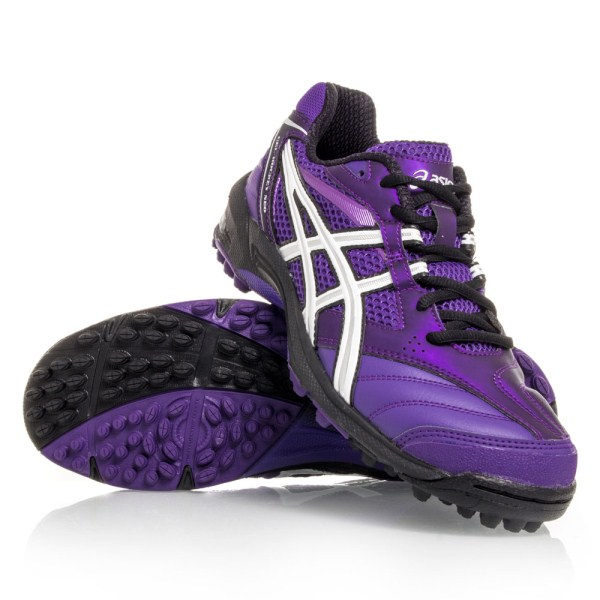 Asics Gel Hockey Neo 2 - Womens Hockey Shoes - Purple/Black