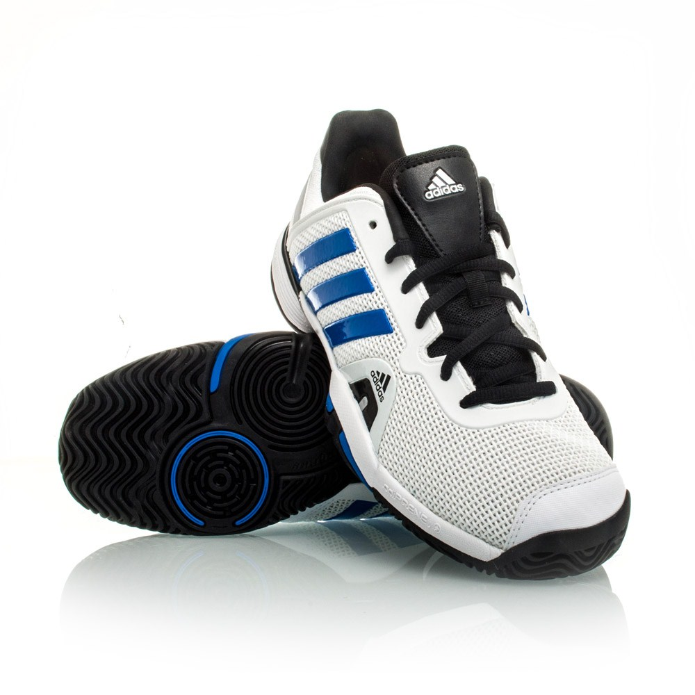 18 adidas barricade 8 xj boys tennis shoes