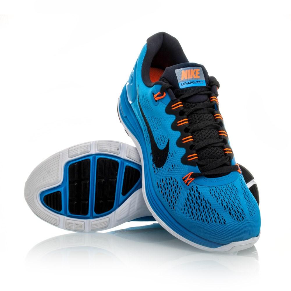 Nike Lunarglide+ 3 Blue Teal Orange