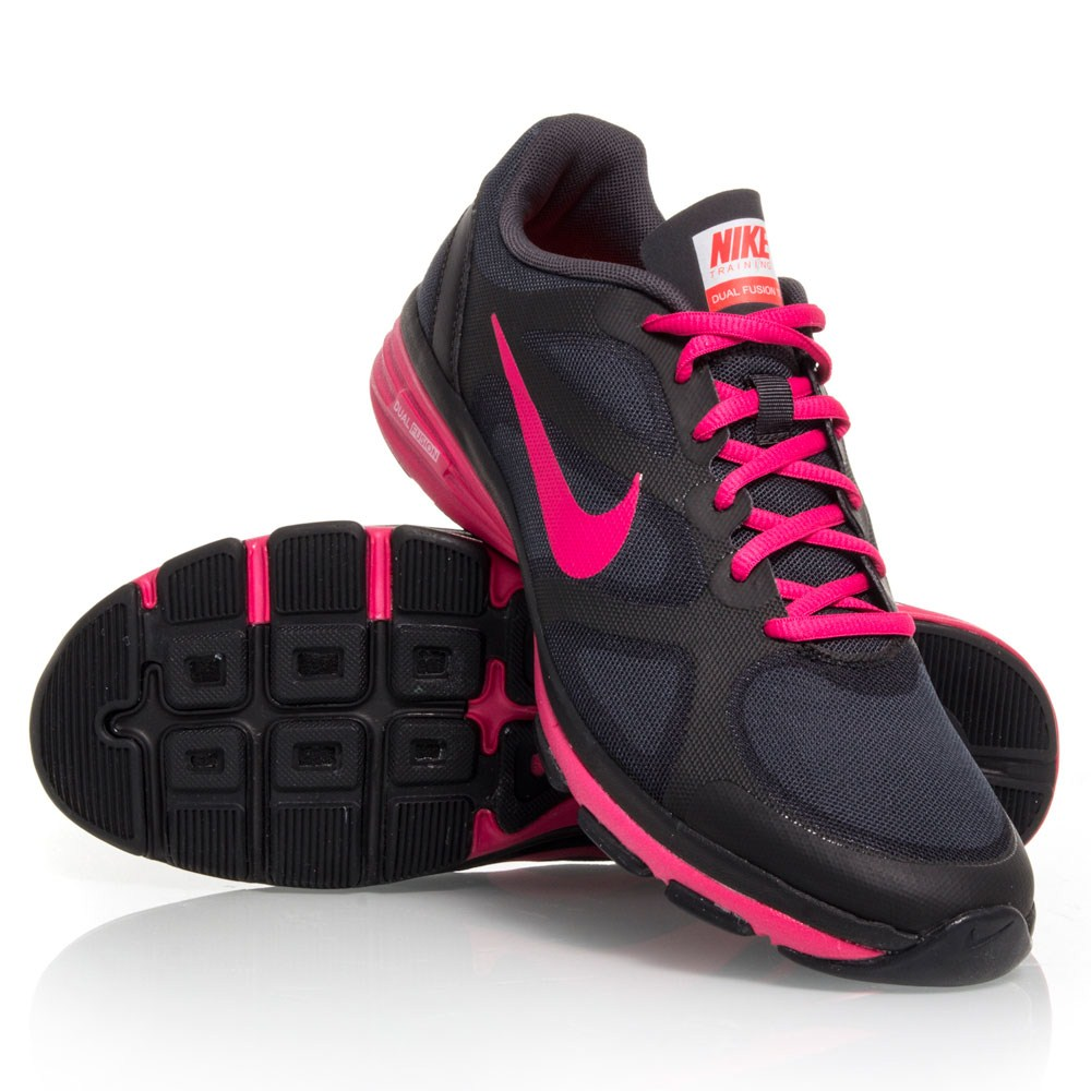Nike Dual Fusion Run women's running shoes Black/Laser Purple/Neo Turquoise/Neo