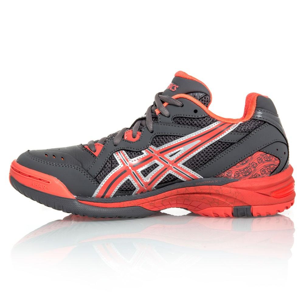 Asics Gel Netburner 15 - Womens Netball Shoes - Grey/Pink/Silver